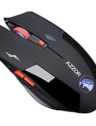 azzor águia 2.4ghz jogo do rato wireless multi-chaves dpi-switch tranquila clique silenct