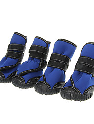 Cat / Dog Shoes & Boots Waterproof Black / Blue Spring/Fall CottonDog Shoes