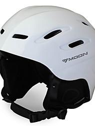 MOON Radfahren Weiß PC / EPS 28 Vents Ski-/ Snowboardhelm