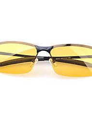 Metal Frame colore solido TAC lenti polarizzate uomo RIBOS Occhiali da Sole