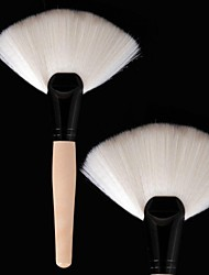 Professional Large Fan Brush Soft Antibacterial Fiber Anti-allergic Makeup Tool