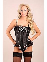 Sexy Lace Bow corsets des femmes