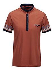 Col en V Imprimer Gentleman T-shirts