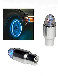 Super Bright Bleu clignotant LED Light Tire (2-Pack)
