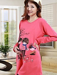 New Fashion Spring and Autumn Maternity and Pregnant Clothing Casual Loose Long Design T-shirt Top