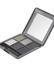 6 Eyeshadow Palette Shimmer / Mineral Eyeshadow palette Powder Normal