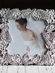 Estilo moderno do casamento Floral Picture Frame