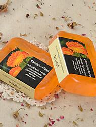 Tailândia D-narn Handmade Calendula Essential Oil 90g Sabonete Hidratante