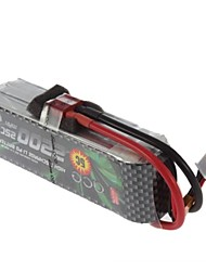 ACE 11.1V 2200mAh 3S 25C Lipo Battery (T Plug)