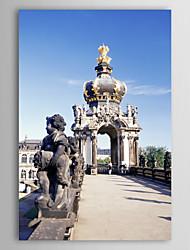 Натянутым холстом печати Искусство Пейзаж Германия Декорации