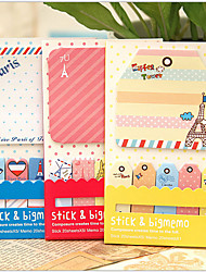 Cartoon Pattern Special Shape Note Book