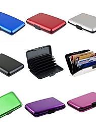 boîtier étanche en aluminium de carte de crédit carte d'identité de l'entreprise titulaire de portefeuille