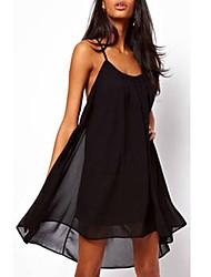 Women's Dresses , Chiffon Casual Aidi