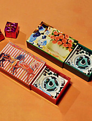 Whirligig Christmas Landscape in Matchbox Shaped Music Box (More Colors)