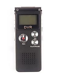 CR-30 Hot Vender Gravador de Voz Digital com MP3 (4GB)
