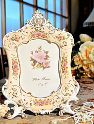"7"" 10""Modern European Style Pearl  Polyresin Picture Frame"