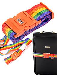 Outdoor Rainbow Style Coded Lock(Random Color)