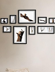 White Color Photo Frame Collection Set of 9