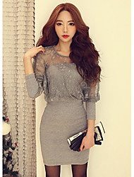 Women's Dresses , Lace Casual Rxhx