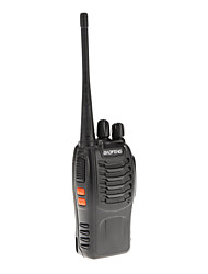 Baofeng UHF 400-470MHz 5W TOT VOX portátil Two Way Radio Walkie Talkie Transceiver Interphone