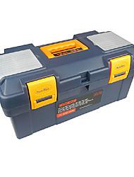 16 * 7 * 2 pulgadas ABS Caja de herramientas de plástico