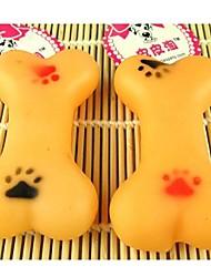 Notícias de borracha Odontoprisis Ossos Brinquedos para animais de estimação