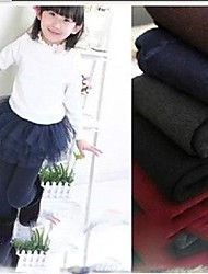 Children's Colored Cotton Leggings