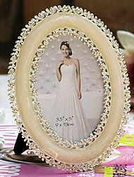 "5""Modern European Style Pearl Metal Picture Frame"