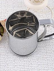 Iron Middle Size Flour Sifter Set of 1 Piece,9.8*9.8*12.7cm