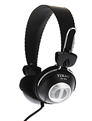 Yh-A5-3.5mm Stereo PC Computer Wired Headset Headphone with Built-in Mic