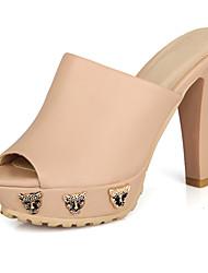 женские коренастый пятки слайд тапочки обувь (больше цветов)