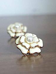 MEET YOU Elegant Flower Pattern Ear Ring