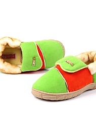 Slide Casual sólido de lana de color de la Mujer Slipper - 2 Colores disponibles