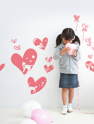 Romance Hearts Decorative Wall Stickers