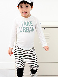 Boy's Stripe Casual Clothing Sets