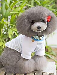 Oso raya el modelo T-Shirts para Mascotas Perros (varios colores, tamaños)