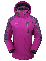 MAKINO Women's Waterproof Thermal Two-piece Jacket for Camping