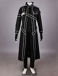 Sword Art Online SAO Kirito Swordman Cosplay Costume