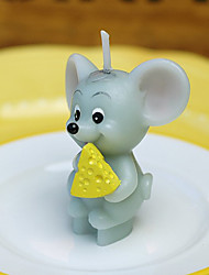 """Who Moved My Cheese"" Mouse Candle"