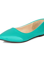 Patent Leather Women's Flat Heel Comfort Flats Shoes(More Colors)