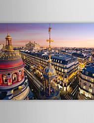 Stampa trasferimenti su tela artistica Paesaggio Grand Opera, Parigi