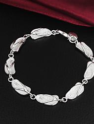 Haute Qualité Original Silver flip argent plaqué Flops Charm Bracelets Lié