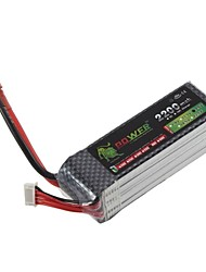 LION 14.8V 2200mah 4S 40C Li-Po Battery (T Plug)
