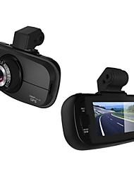 2,7 pouces de 140 degrés Grand Angle voiture DVR Voir de Super Night Vision avec microphone intégré