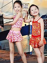 Girl's Multi Color Lovely Tankinis Baby Swimwear