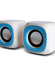 2.0 Bass High Quality Portable Hi-Fi Loudspeaker Box for PC/Multi-Media/Laptop