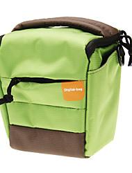 Mini New F001-GN One-shoulder Camera Bag (Green)