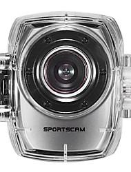 SPORTCAM HD1080P-F31V Mini Action Camcorder (Silver)