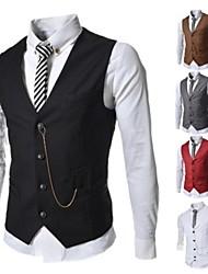 Men's Fashion Business Vest Casual Slim Vest