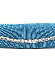 Silk Wedding/Special Occasion Clutches/Evening Handbags with Rhinestones (More Colors)